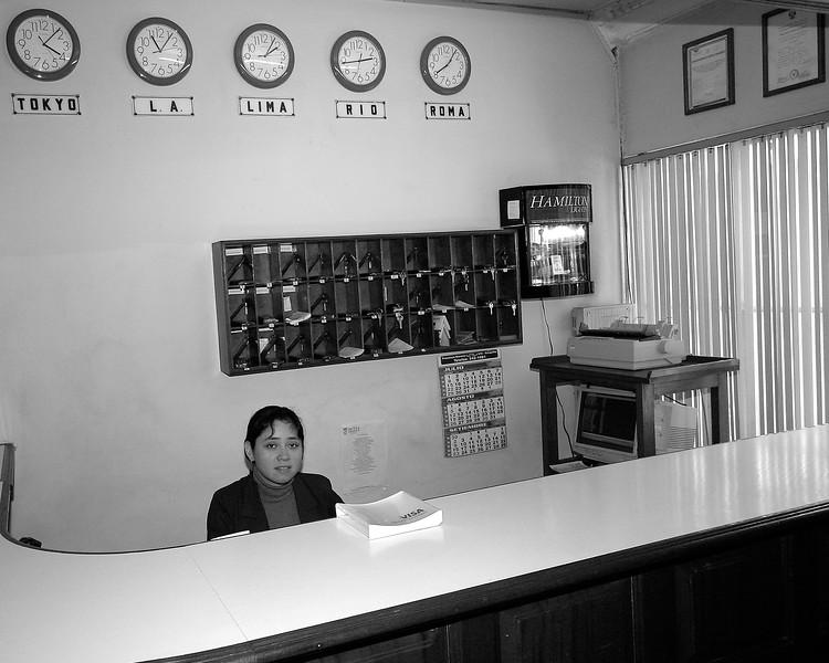 Hotel Lobby Lima, Peru