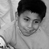 Peruvian Boy smiling