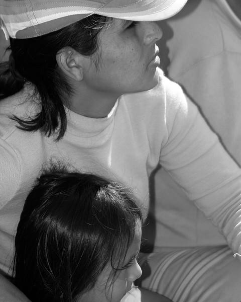 Mother and Child Huanca, Peru