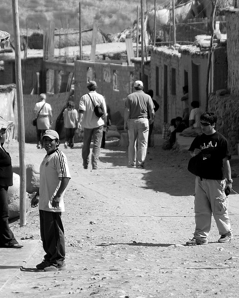 Jerry, Dana and Dale Streets of Huanca, Peru