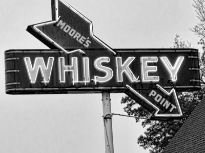 Old Whiskey Neon Sign Kentucky