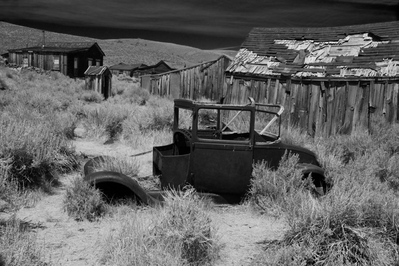 Bodie, CA Ghost Town Car