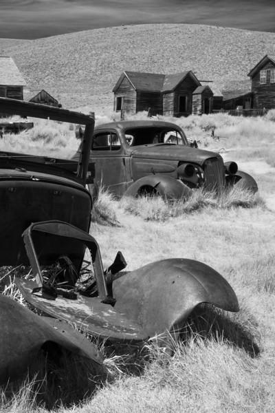 Bodie, CA Ghost Town Car