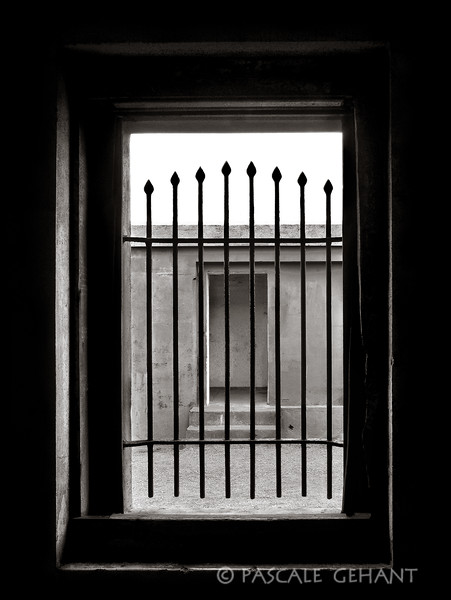 Grilled window