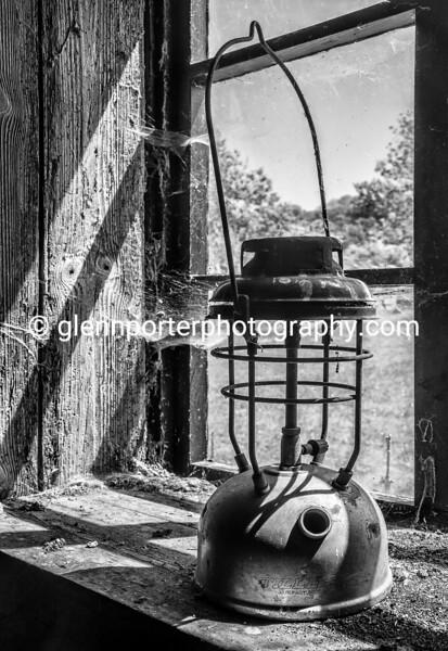 Old tilley lamp - Taken at the abandoned village of Tyneham in South Dorset, England