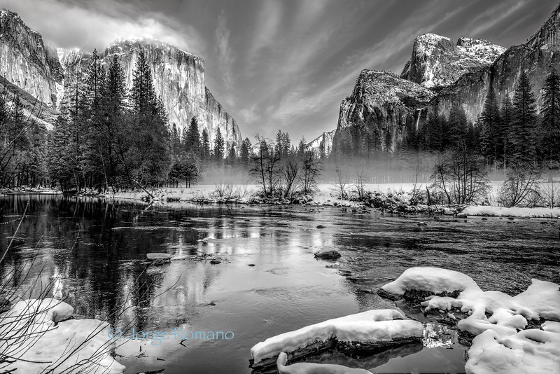 Merced River With View
