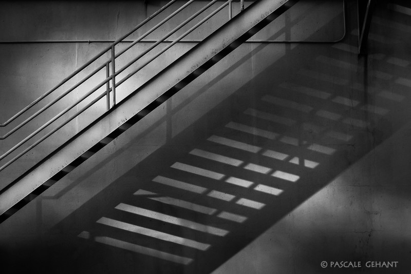 Staircase and its shadow