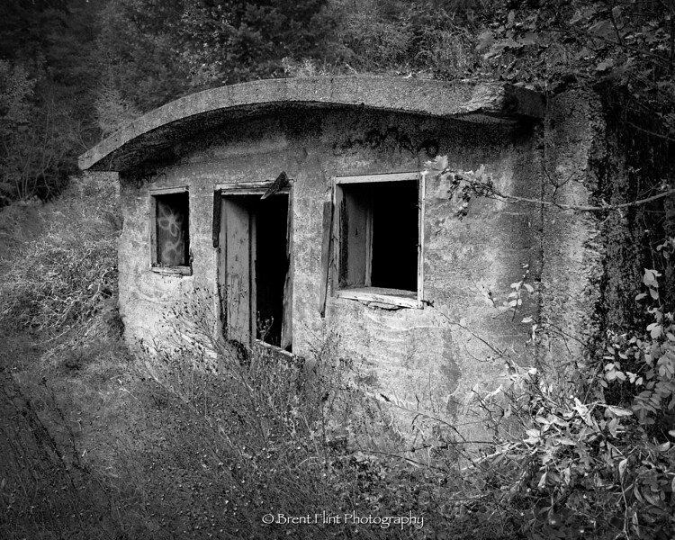 S.5233 - Root cellar of the former Providence Hospital, Wallace, ID.