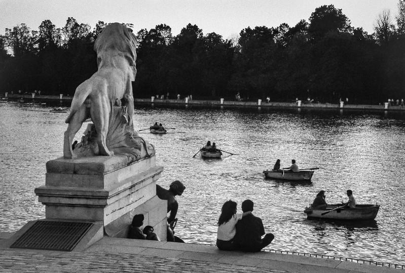 Retiro Park, Madrid, Spain. 1988