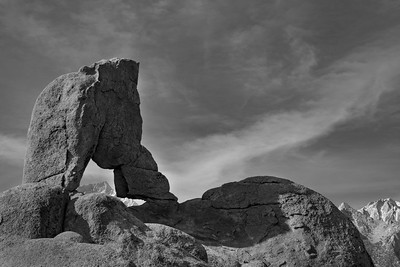 Lady Boot Arch - Lone Pine, Ca