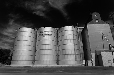Grain Towers, Washtucna, Washington