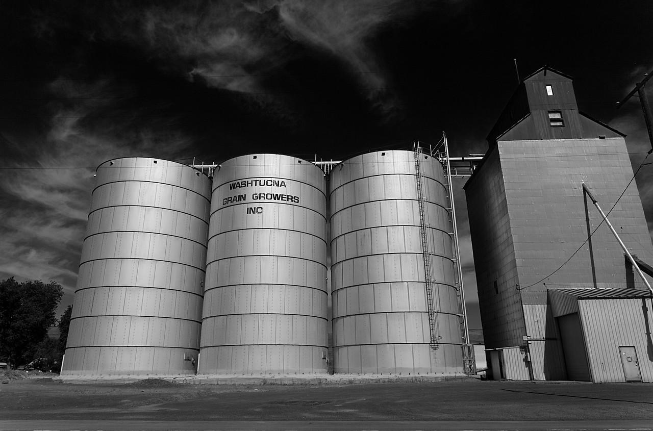 Grain Towers, Washtucna, Washington