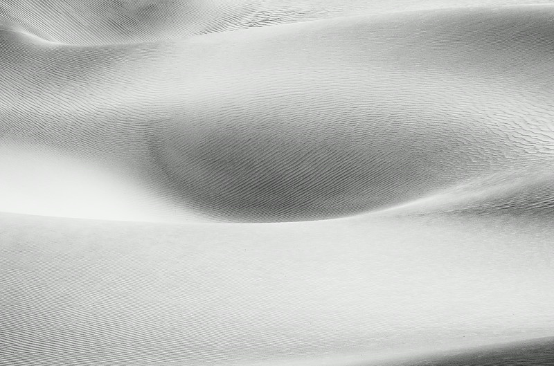 High Key Dune Abstract