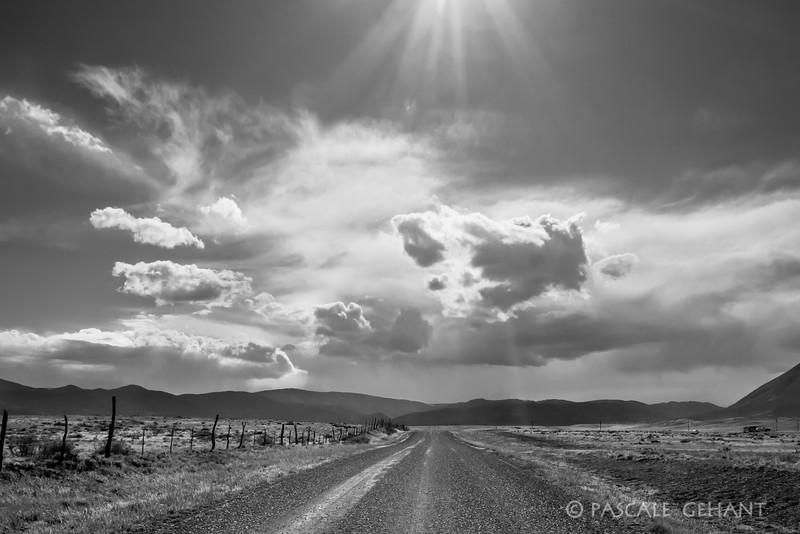 Big sky of Colorado