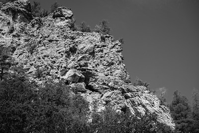 Rock Formation - Los Alamos