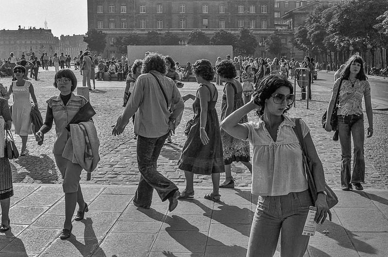 Île de la Cité, Paris, France. 1978