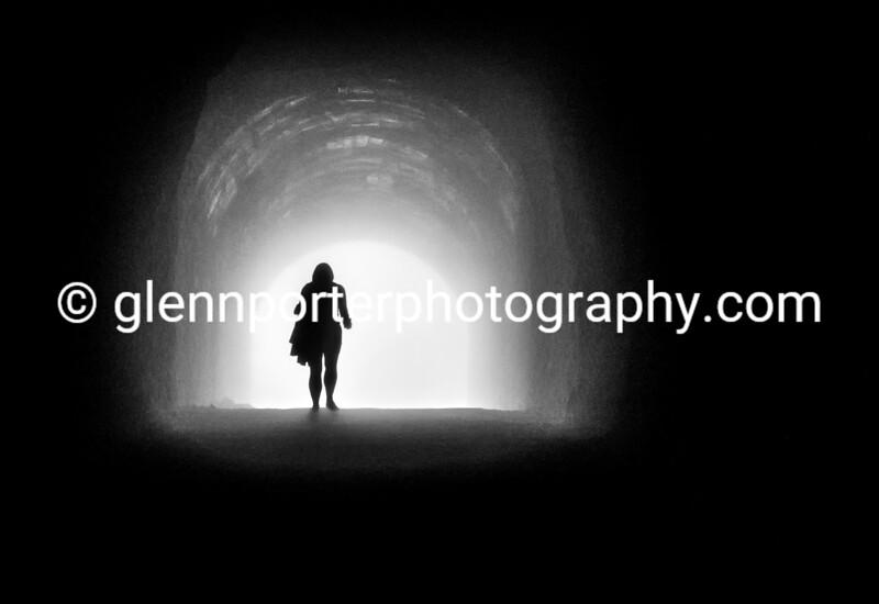 Through the tunnel into the mist - A walk in the mountains around Lake Garda