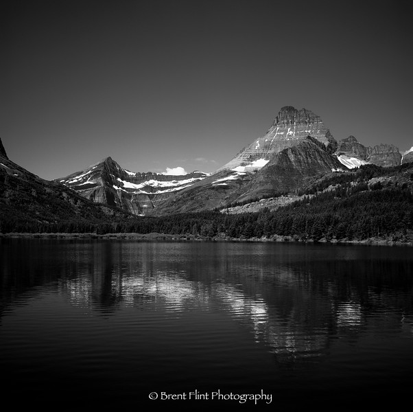 DF.1440 - Swiftcurrent Lake, Glacier National Park, MT.