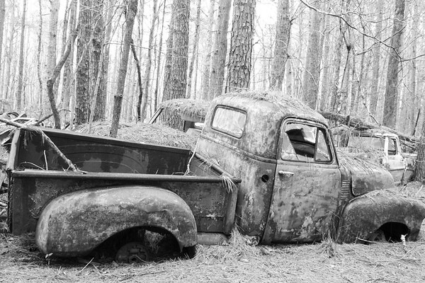 Old Antique Truck
