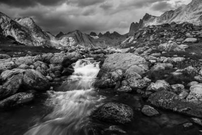 Titcomb Basin Wind River Range, Wyoming