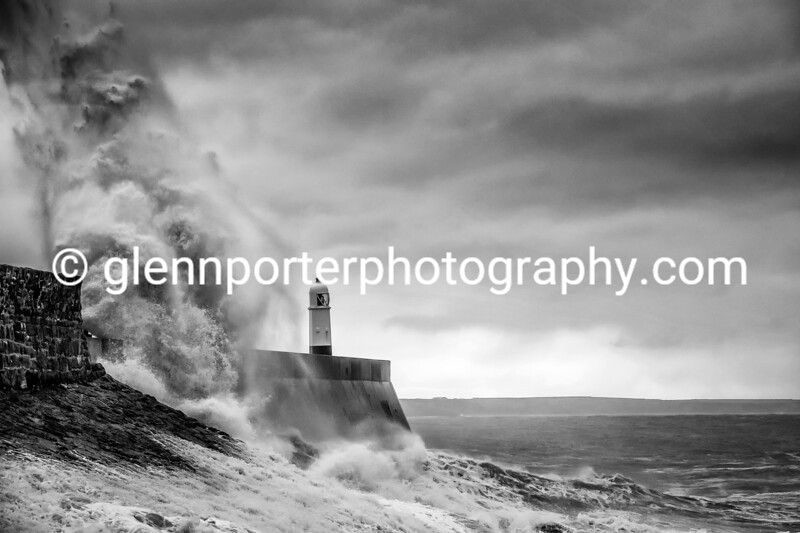 Porthcawl Storm - Early morning