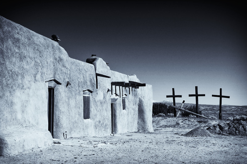 Church in Abiquiu, NM