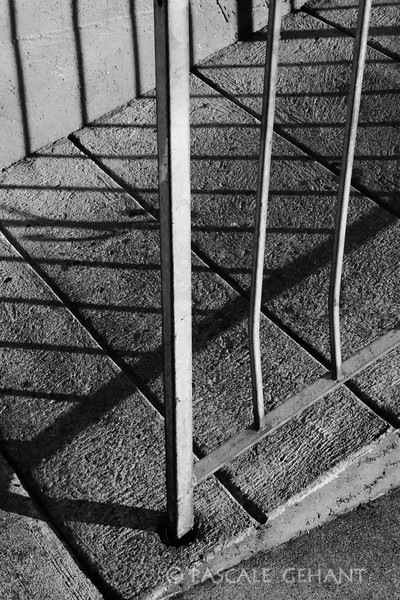 Ramp and its shadow