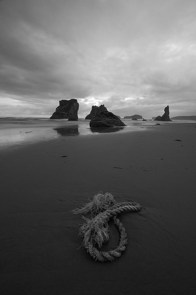 Rope. Bandon Beach Or.