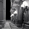 Alberta Legislature in Black and White