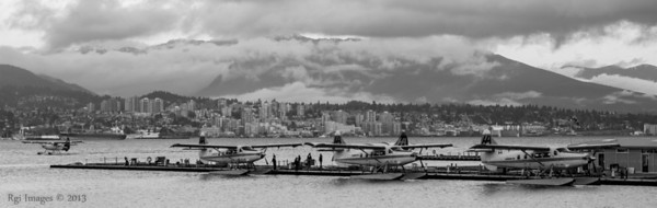 North Vancouver across Vancouver Harbour.