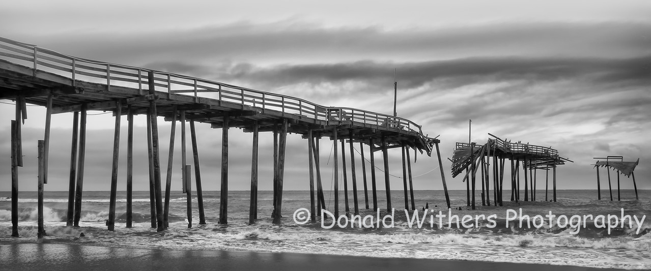 Impermanence No. 7 - Cape Hatteras Pier