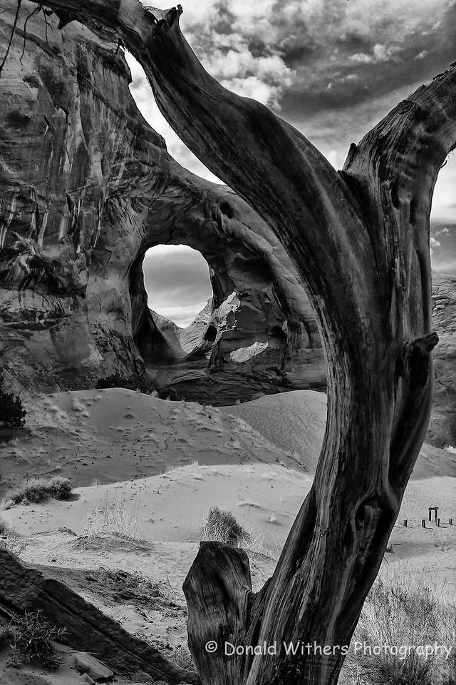 Ear of Wind - Monument Valley, Utah