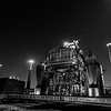 Industrial Landscape Park Duisburg Nord at Night