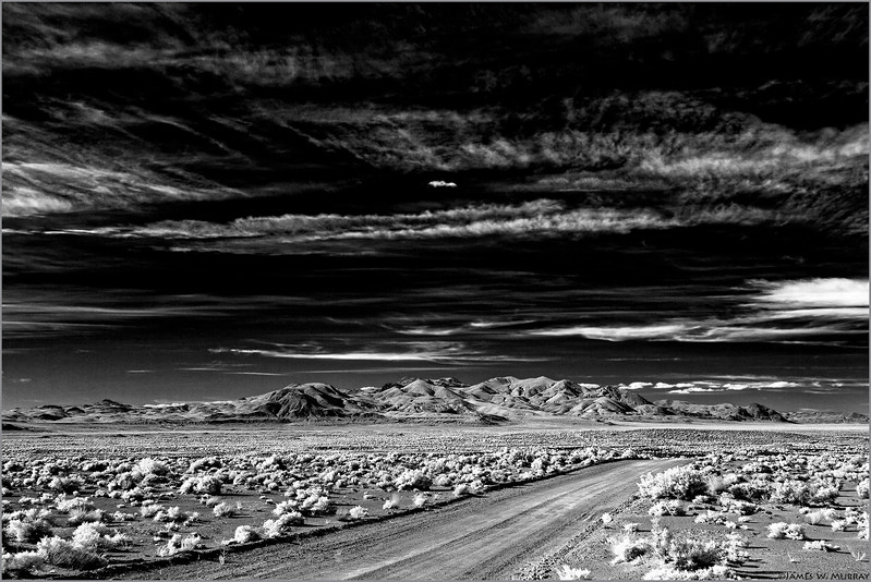 Nevada Desert in Infrared . . . [#7D.2017.8176]