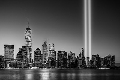 Tribute in Light - New York City Skyline