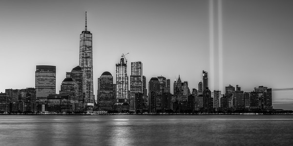 Tribute in Light - Pano