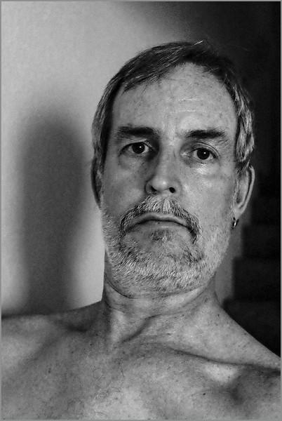 Self-portrait (fourth step/shadow side), 9/26/2016