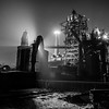 Industrial Landscape Park Duisburg Nord at Night
