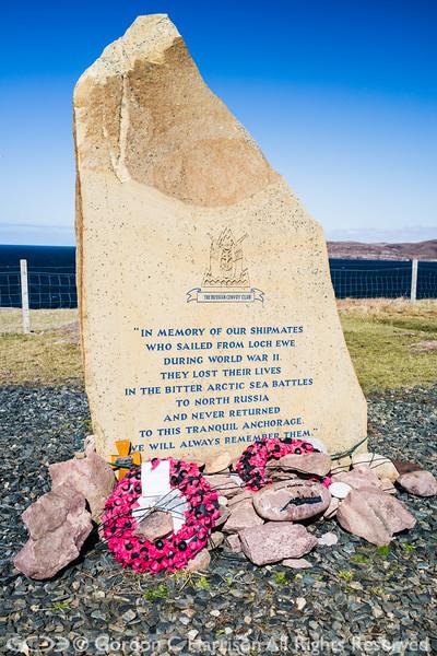 Photo 3294: Arctic Convoy Memorial Stone