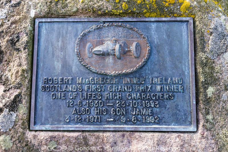 Photo 3286: Innes Ireland Memorial