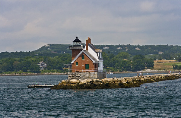 Rockland Breakwater Light House