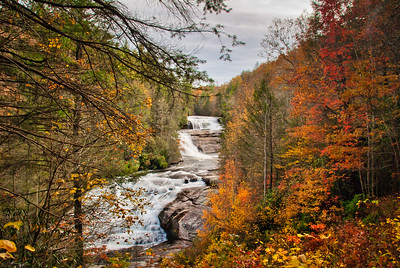 Triple Falls North Carolina