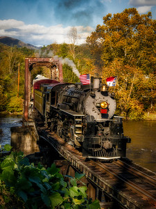 GSM Railroad Locomotive
