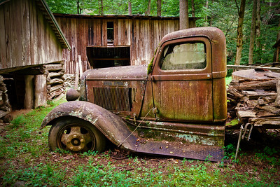 Rusty Old Dodge Truck