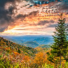 Autumn Sunset<br /> Maggie Valley, North Carolina