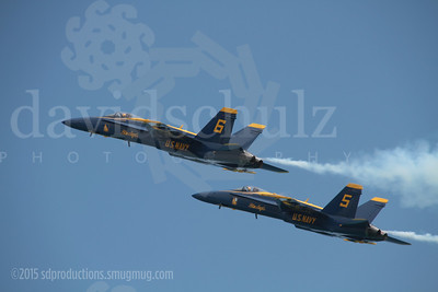 Blue Angel Solo Pilots Demonstrate Slow Flight