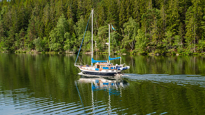 Sailboat, Lake Malaren, Sweden