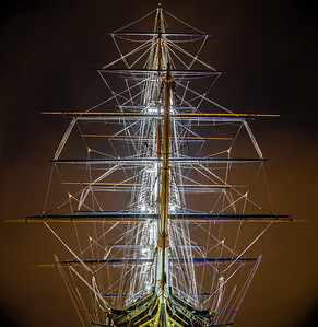 Cutty Sark at Night
