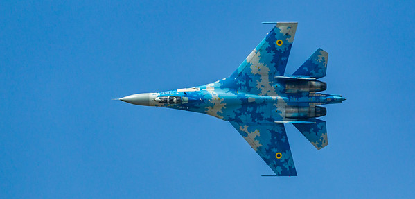 Flanker From Above