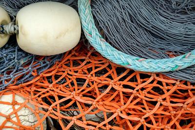 Fishing Nets in Anacortes, Wa